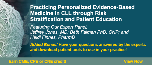 Practicing Personalized Evidence-Based Medicine in CLL through Risk Stratification and Patient Education